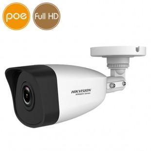 Telecamera IP HikVision PoE - Full HD (1080p) - Lente 4mm - IR 30m
