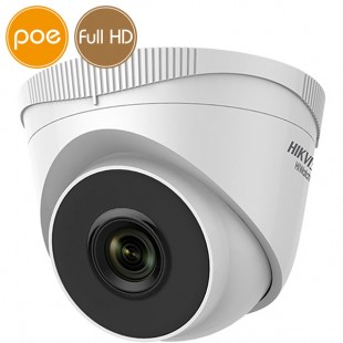 Dome camera IP HikVision PoE - Full HD (1080p) - Lente 6mm - IR 30m