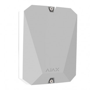 MultiTransmitter wireless module for connecting alarms wired Ajax white