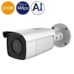 Telecamera IP SAFIRE PoE - 4 Megapixel - Intelligenza Artificiale 2 - IR 80m