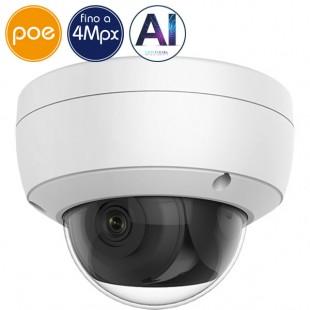 Dome camera IP SAFIRE PoE - 4 Megapixel - IA2 - IR 30m