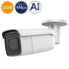 Telecamera IP SAFIRE PoE - 4 Megapixel - Intelligenza Artificiale 2 - IR 60m