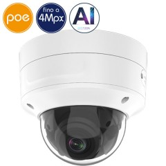 Telecamera dome IP SAFIRE PoE - 4 Megapixel - Intelligenza Artificiale 2 - IR 40m