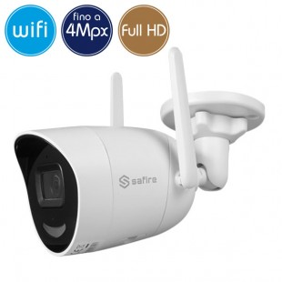 Telecamera wireless IP WiFi - 4 Megapixel - Intelligenza Artificiale - Microfono - IR 30m