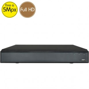 Hybrid HD Videorecorder - DVR 4 channels 5 Megapixel - Alarms VGA HDMI