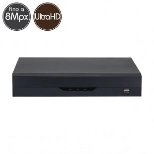 Hybrid HD Videorecorder - DVR 4 channels 8 Megapixel Ultra HD 4K -- VGA HDMI