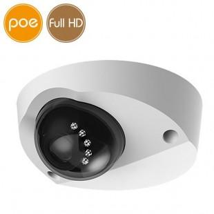 Telecamera dome IP PoE - Full HD (1080p) - IR 20m