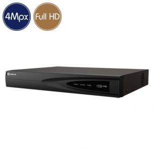 Hybrid HD Videorecorder SAFIRE - DVR 4 channels 4 Megapixel - Alarms HDMI