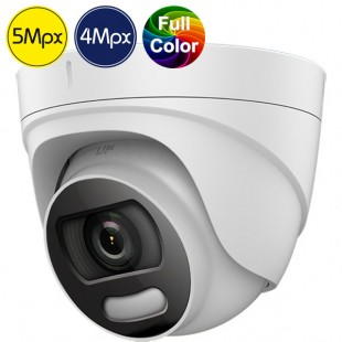 Telecamera dome HD SAFIRE a colori di notte - 5 e 4 Megapixel - IR 20m