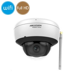 Dome camera wireless IP WiFi - 2 Megapixel / Full HD (1080p) - Mic - IR 30m