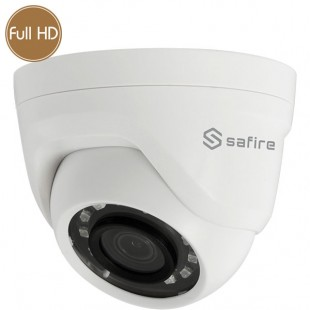Telecamera dome HD SAFIRE - Full HD - 1080p - 2 Megapixel - IR 25m