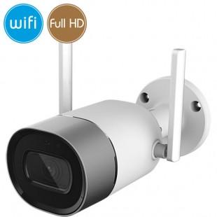 Camera wireless IP WiFi - 2 Megapixel / Full HD (1080p) - Mic - IR 30m