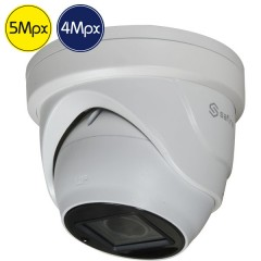 HD dome camera SAFIRE - 5 4 Megapixel - Motorized lens 2.7-13.5mm - IR 40m