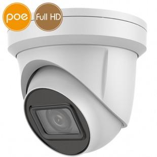 Telecamera dome IP SAFIRE PoE - Full HD (1080p) - Varifocale 2.8-12mm - IR 30m