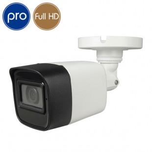 HD camera - Full HD - 2 Megapixel - Mic - IR 80m