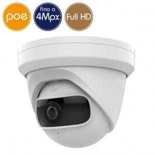 Telecamera dome IP SAFIRE PoE - 4 Megapixel - Ultra Low Light - Wide - IR 10m