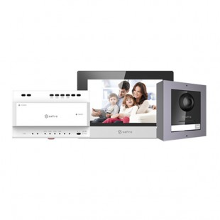 2 wires Video Intercoms Kit external with converter
