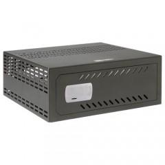 Cassaforte per DVR da 1U rack - Specifico per CCTV - serratura meccanica di sicurezza