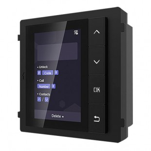 Module extension 500 contact screen