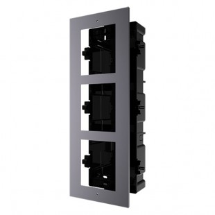 Front panel and built-in adjuster box 3 modules
