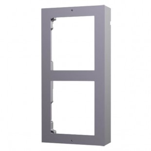 Front panel and surface box 2 modules