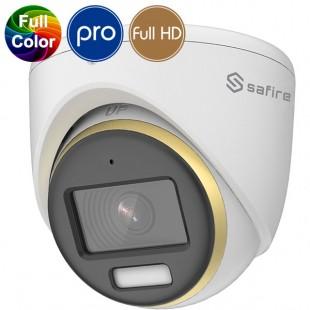 HD dome camera SAFIRE - Full HD - Full Color Vision - Night Color - 2 Megapixel - Mic - IR 20m