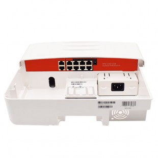 Outdoor switch 10 ports - 8 ports PoE