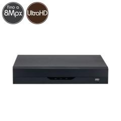 Hybrid HD Videorecorder - DVR 16 channels 8 Megapixel  Ultra HD 4K - VGA HDMI