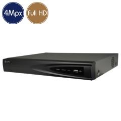 Videoregistratore HD ibrido SAFIRE - DVR 16 canali 4 Megapixel - Allarmi VGA HDMI