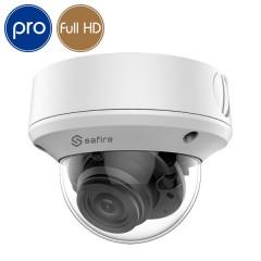 Telecamera HD dome SAFIRE - Full HD - Ultra Low Light - motorizzata 2.7-13.5mm - IR 70m