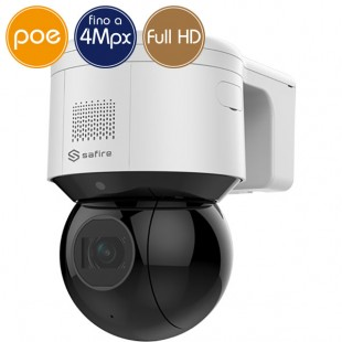 Camera IP SAFIRE PoE PTZ - 4 Megapixel - Ultra Low Light - Zoom 4X