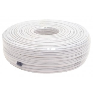 Coaxial cable with video RG59 + power 2x0,50mm